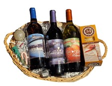 Sweet Southern Wine Holiday Basket 3
