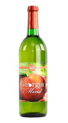 Georgia Winery Products Georgia On My Mind White Wine Peach