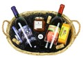 2 Bottle Sweet Southern Wine Basket Image