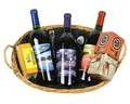 3 Bottle Sweet Southern Wine Basket Image