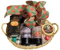 2 Bottle Holiday Basket